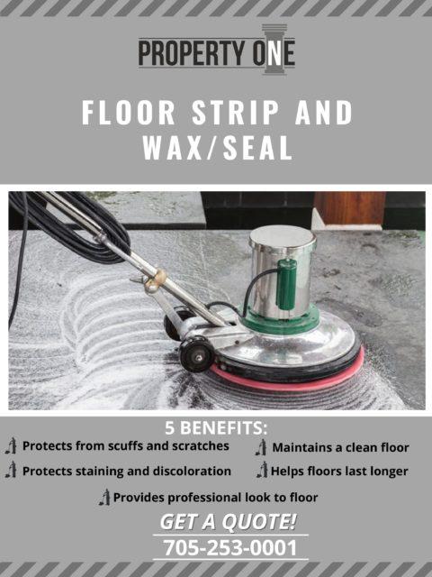 Floor Strip and Wax